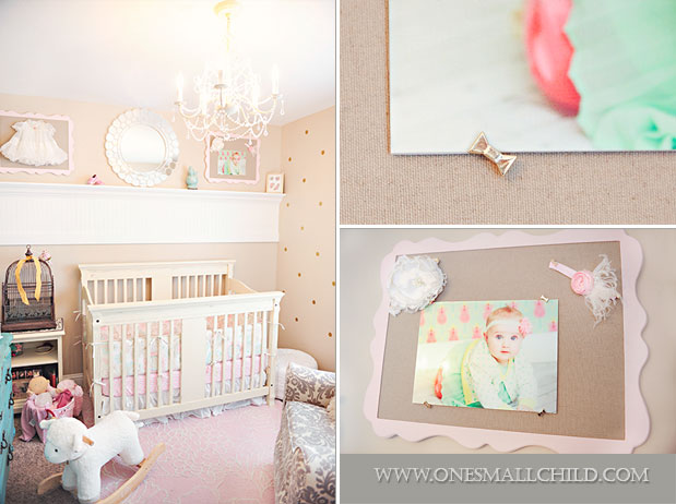 Display in a girl s room see the rest of baby lily s nursery