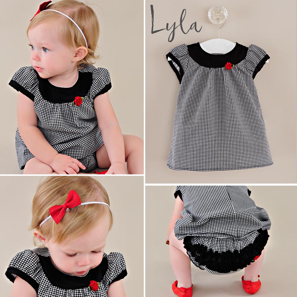 Lyla: Baby Girl Christmas Dresses
