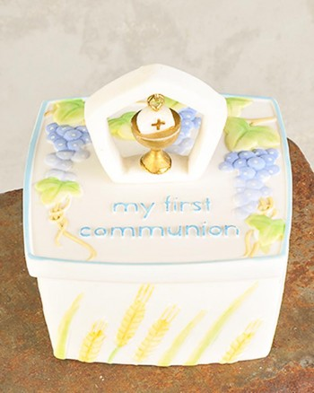 Communion Rosary Box
