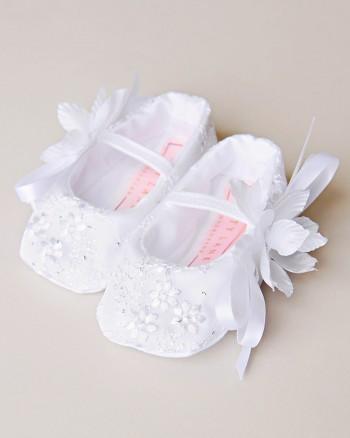 Jada Christening Slippers