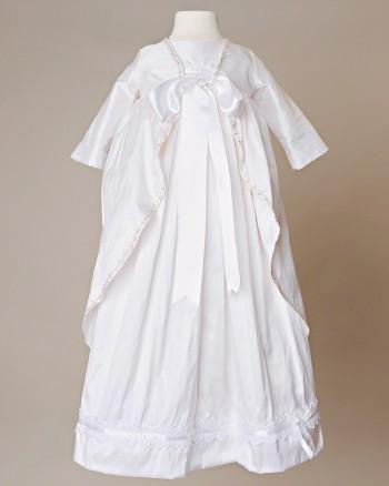 Jane Silk Baptism Coat