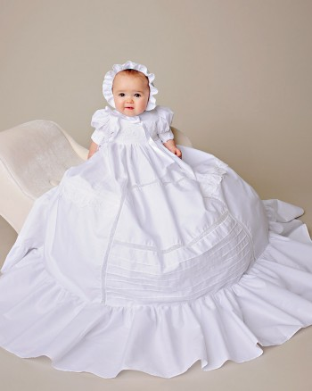 Margaret Cotton Christening Gown