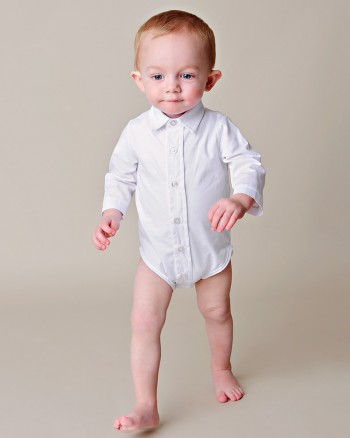 Paul Buton-up Baby Bodyshirt