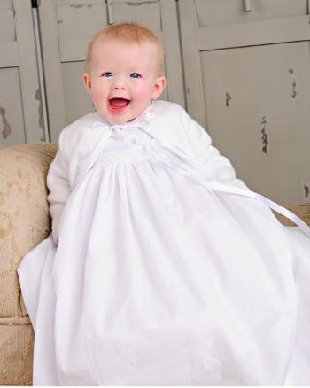 Quinn Fleece Christening Jacket