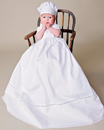 Sean Cotton Christening Gown