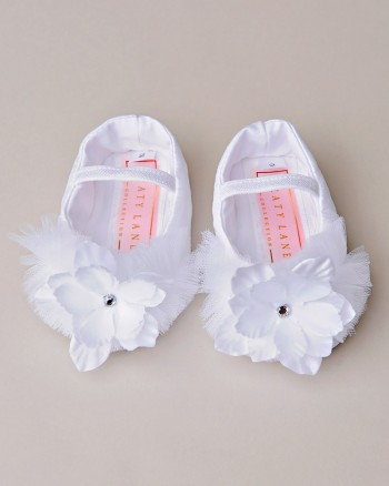 Shanna Christening Slippers