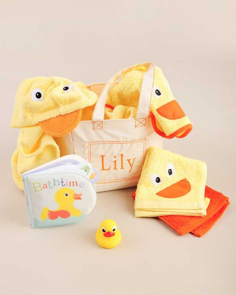 Bath Time Gift Tote