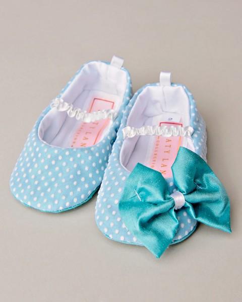 Fiona Polka Dot Baby Shoe