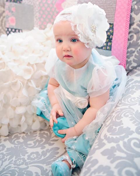 Skye First Birthday Dress