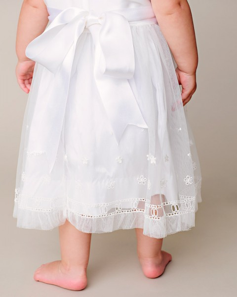 Tallie Silk Christening Dress