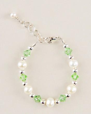 Birthstone Pearl Bracelet