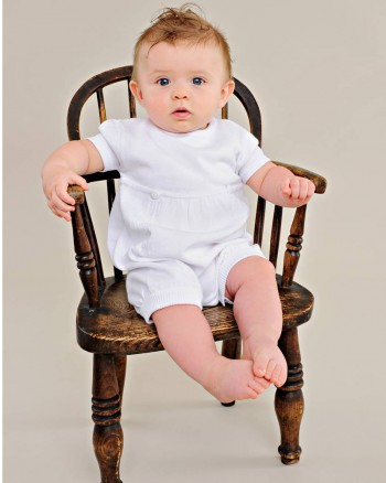 Evan Christening Outfit
