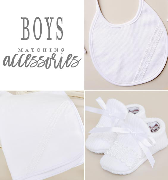 Boys Christening Outfit Accessories
