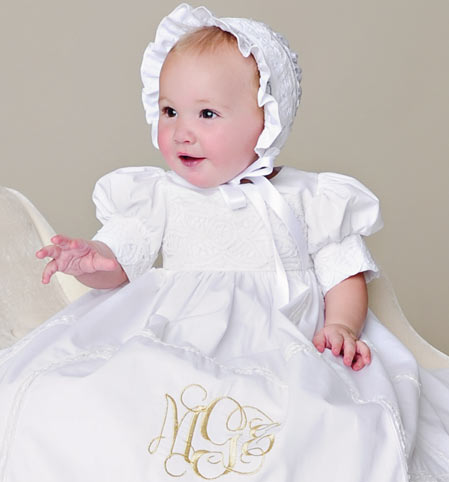 Girls Christening Gowns