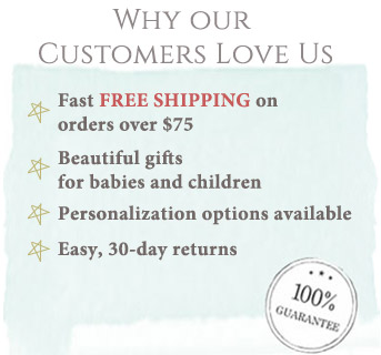 Our customers love us -Free shipping on orders over $75.00
