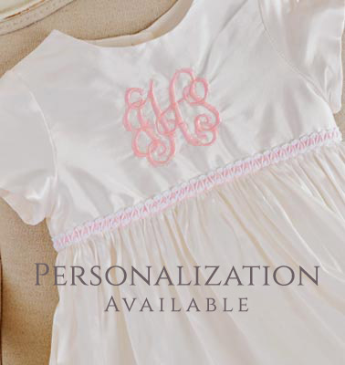 Personalized Girls Christening Gowns