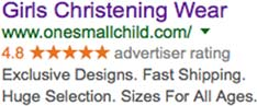 One Small Child Google Ad