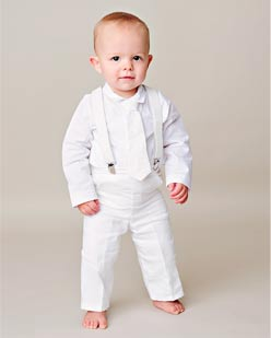 Shop Cotton & Knits christening outfits for boys