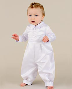 Shop Satin christening outfits for boys