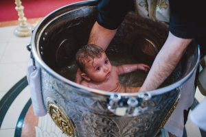Greek Orthodox Baptism