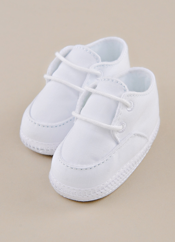 Boy Christening Shoe