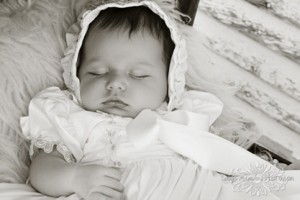 Lydia Silk Christening Gown - One Small Child