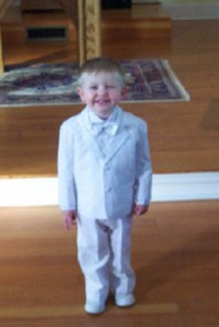 Edward Toddler Christening Tuxedo