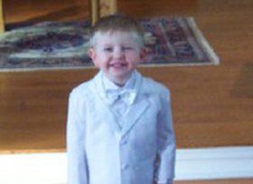 Edward Toddler Christening Tuxedo