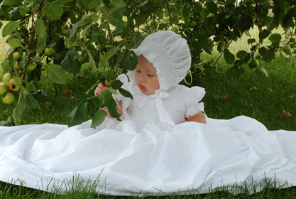 Abigail Smocked Christening Gowns