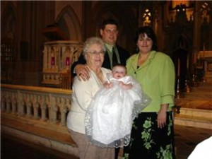 Shamrock Organza Christening Gowns - One Small Child