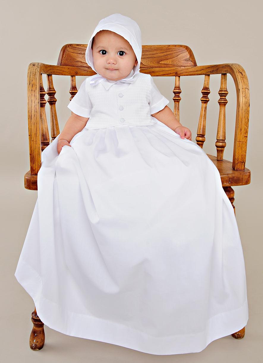 Stefan Boy Baptism Gown