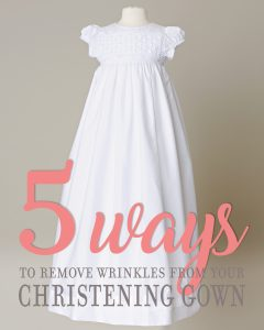 5 Ways to Remove Wrinkles - One Small Child