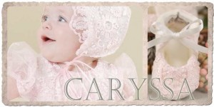 Caryssa Christening Slippers