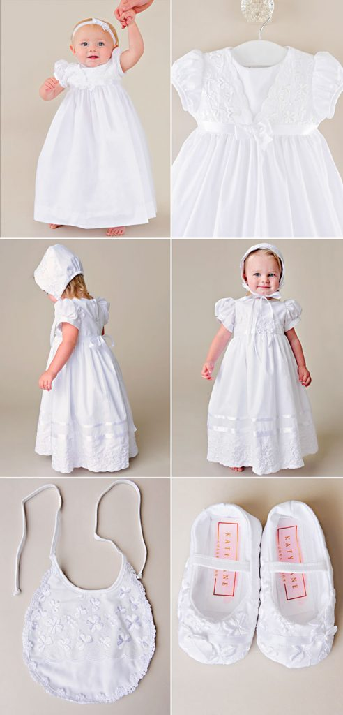 Erin/Faye Shamrock Christening Dress