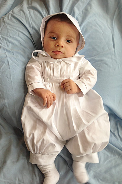 David Christening Outfits for Boys - One Small Child