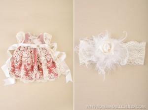 Ella Baby Holiday Dress & Headband   - One Small Child