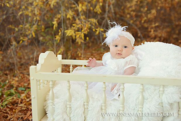 Tallie Christening Dress & Headband