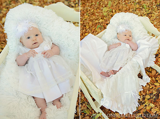 Tallie Christening Dresses & Headbands | One Small Child