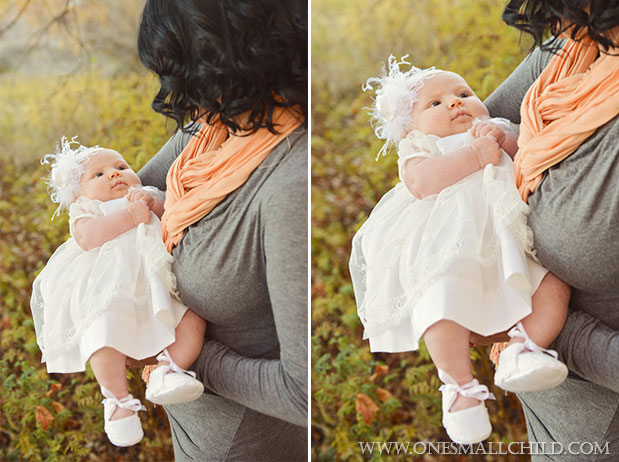 Tallie Christening Dress and Headband | One Small Child