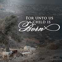 For Unto Us - Sheep | Free Christmas Printables at One Small Child