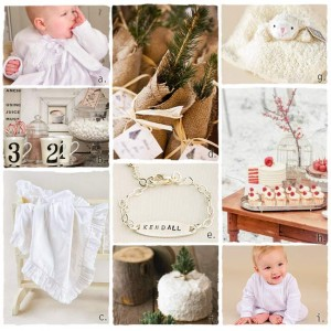 Winter Christening Ideas | One Small Child