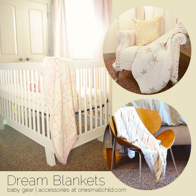 Dream Blankets for Babies | Aiden + Anais at One Small Child