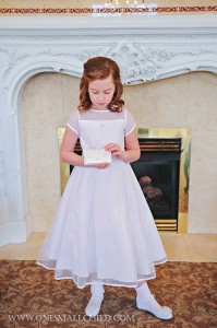 Miss Pearl First Communion Dresses | One Small Child