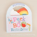 Peek a Boo Rainbow Baby Book at One Small Child