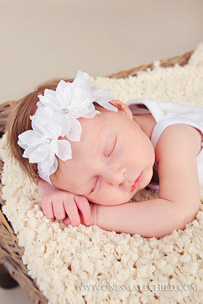 Twinkle-Flower-Headband | Baby Girl Headbands