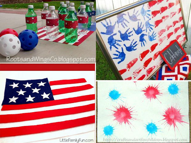 Toddler Fourth of July Activities - One Small Child