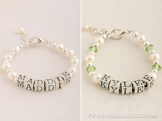 Baby Name Bracelets   Jewelry - One Small Child