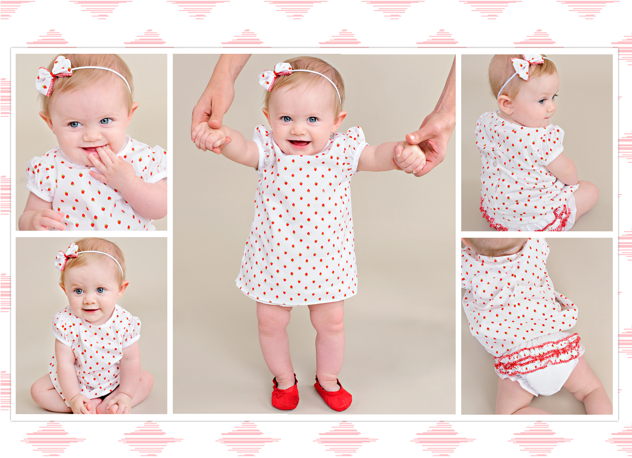 Strawberry Baby Summer Dress