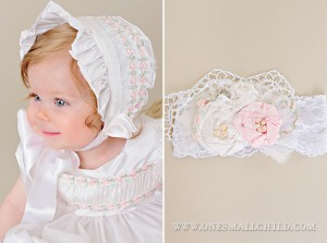 Headband and Bonnet - One Small Child
