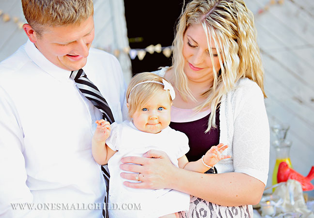 Family Christening Photography